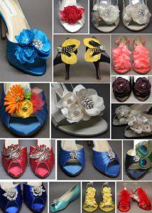 Just use your imagination to create your custom wedding shoe... #weddingshoes