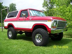 1979 Ford Bronco. My Dad had one, it was so fun for off-roading!