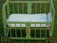 antiques doll cribs   Doll crib, antique   Love This!   Pinterest