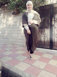 A look by: Lelyan Al-braisa  #hijab #cute #fashion .