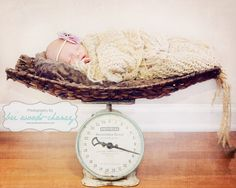 creative newborn girl session   photography by www.briwoodschaney.com