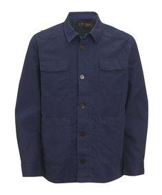 Barbour Needle Shirt - Folk Blue