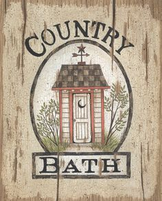Country Bath Outhouse