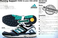 Adidas Ads, Adidas Shoes, Sneakers Nike, Adidas Zx 8000, Sneaker Posters, Adidas Vintage, Sport Clothing, School Sports, Sports Shoes