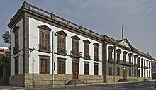 Santa Cruz de Tenerife - Palacio de la Capitanía General de Canarias.