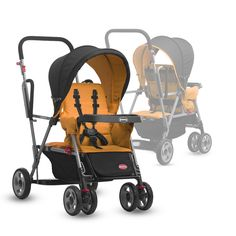 Joovy Online Store - Caboose Stand On Tandem Double Stroller, $149.99 (http://www.joovy.com/caboose-stand-on-tandem-double-stroller/)