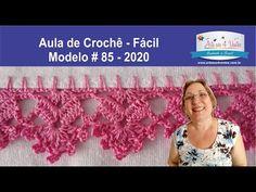 Crochet Edging Patterns, Crochet Lace Edging, Crochet Borders, Crochet Videos, Chrochet, Yarn Crafts, Crochet Earrings, Projects To Try, Knitting