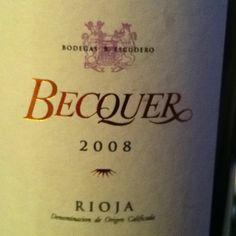 Becquer 2008 la Rioja