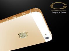 Gold plated iPhone 5 from Goldstriker l #luxury