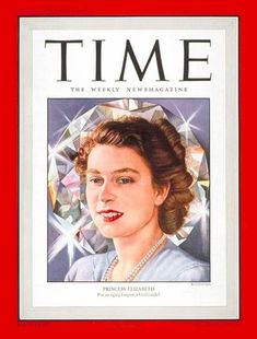 TIME Magazine Cover: Princess Elizabeth -- Mar. 31, 1947