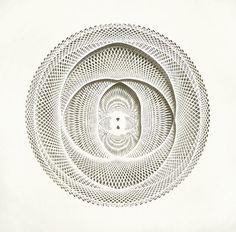 Tahiti Pehrson - Hand cut paper 30 x 44 inches