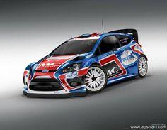 ra Bernhard ten Brinke - Fiesta WRC LIVERY