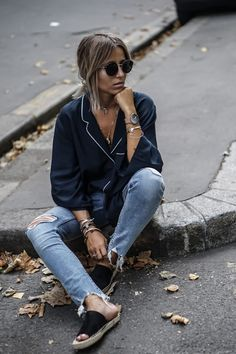Pajama-Top trend - LOOK BY H