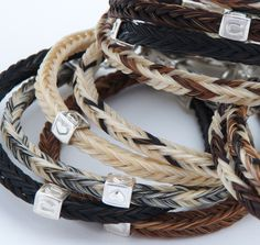 Hamish & Ozzie :: Handmade horsehair jewellery using your own horse's hair, in sterling silver and gold
