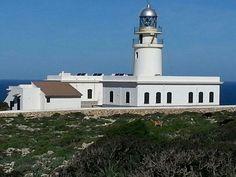 Far del Cap de Cavalleria Menorca, Lighthouses, Statue Of Liberty, World, Sweet, Travel, Islands, Europe, Blue