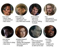 I'm Bruce Banner mostly but I'm like Nick Fury too->And I'm over here in the Steve Rogers category