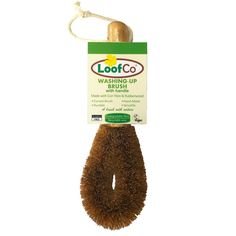 LoofCo Washing-Up Brush with Rubberwood handle - LoofCo
