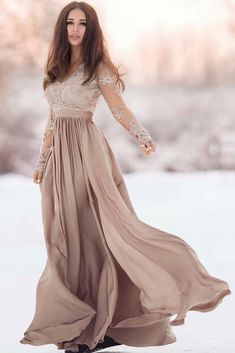 Bridesmaid Dress Blush Prom Dress Ruched Sweetheart Maxi Dress Cap Sleeves Chiffon Dress Illusion Lace Back A-line Dress Wedding Dress L501