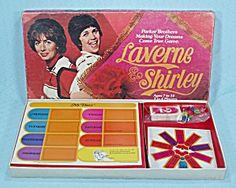 Laverne & Shirley Game, Parker Brothers, 1977
