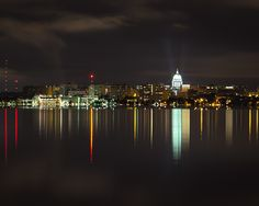 Reflections of Madison, Wisconsin - July 2013
