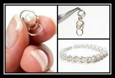 Ψάχνεις την επόμενη ιδέα για τα χειροποίητα κοσμήματα που θα φτιάξεις. Δες στο ediva.gr πως να φτιάξεις μόνη σου ένα πανεύκολο βραχιόλι αλυσίδα με πέρλες!