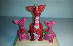 CUSTOM Polymer clay mother dragon by ARAartisticcreations on Etsy