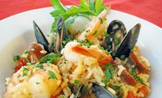 Valentine's Day #Recipe: Saffron Paella. Get it: http://life.gaiam.com/article/3-healthy-aphrodisiac-recipes