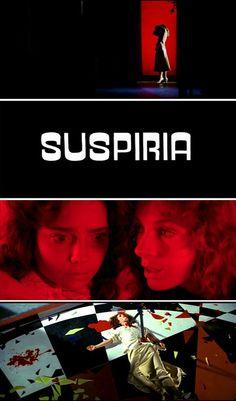 """Witch!"" Suspiria, Dario Argento's 1977 Dark Italian Fairytale. One of the last movies shot in technicolor hence the amazing vibrant colours.:"