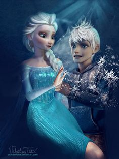 Jack and Elsa - Elsa & Jack Frost Photo (36318565) - Fanpop