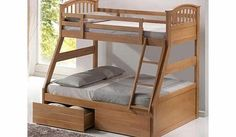 Artisan Oak Three Sleeper Bunk Bed The Oak Three Sleeper The Oak Three Sleeper is an innovative new addition to the range. The roomy bottom bunk is big enough to sleep two children or an adult in comfort. This bed is the perfect soluti http://www.comparestoreprices.co.uk/bunk-beds/artisan-oak-three-sleeper-bunk-bed.asp