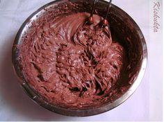 Kiskukta torta: Kedvenc csokikrémem: dobos torta krém