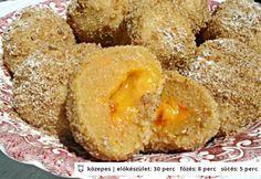 Sárgabarackos édesburgonya gombóc Cornbread, Doughnut, Healthy Life, Muffin, Paleo, Food And Drink, Gluten Free, Sweets, Snacks