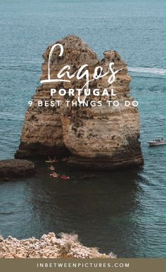 Lagos Portugal 9 Fun Things To Do Discover the town of Lagos in the Algarve Region of Portugal! Your guide to Lagos including where to eat, what to do, and where to stay - 9 Fun Things To Do In Lagos Portugal Portugal Travel Guide, Europe Travel Guide, Europe Destinations, Portugal Vacation, Portugal Trip, Travel Guides, Algarve, Visit Portugal, Spain And Portugal