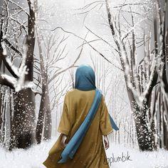 Hijab Hipster, Beautiful Hijab Girl, Islamic Cartoon, Anime Muslim, Hijab Cartoon, Islamic Girl, Islamic Wall Art, Female Profile, Cute Art Styles