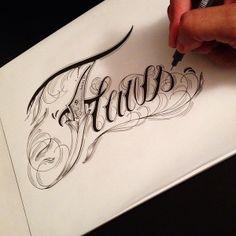 Hand Type Vol. 8 by Raul Alejandro, via Behance