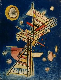 POUL WEBB ART BLOG   Kandinsky  1927 Dark Freshness