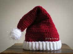 Your place to buy and sell all things handmade Crochet Patterns Amigurumi, Amigurumi Doll, Crochet Hats, Half Double Crochet, Single Crochet, Crochet Christmas Hats, Holiday Hats, Crochet Slippers, Slip Stitch