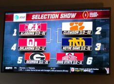 Championship Football, College Football Playoff, National Championship, Nfl Ravens, Clemson, Roll Tide, Notre Dame, Gymnastics, Ohio