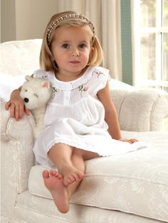 The adorable Sweet Pea Cotton Dress is available this spring! Shop now at jacarandaliving.com