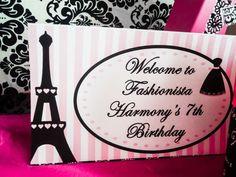 Paris Party | CatchMyParty.com