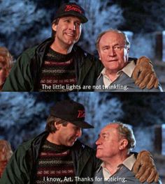 """Christmas Vacation. My favorite Christmas movie!  """"They want you to say grace!  Grace is dead"""""""