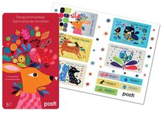 Yhdessä, 2016 Priorities, Postage Stamps, Finland, Design, Stamps