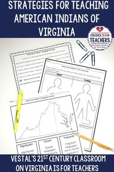 This blog post provides five tips and strategies for teaching Virginia Studies SOL VS.2, American Indians of Virginia. Find ways to bring this unit to life in your classroom and engage students as they learn about Virginia's American Indian tribes of the past and present!#virginiastudies#virginiastudies4thgrade#virginiastudieslessonplans#virginiastudiesprojects#virginiastudiesteachers#virginiastudiesforkids