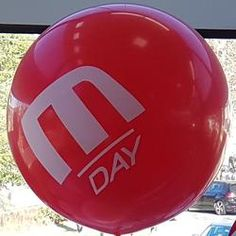 Custom Printed Latex Balloons - 90cm Giants – PFM - Events & Catering Mini Balloons, Custom Balloons, Printed Balloons, Latex Balloons, Delicious Catering, School Carnival, Packing Services, Pms Colour, Rubber Tree