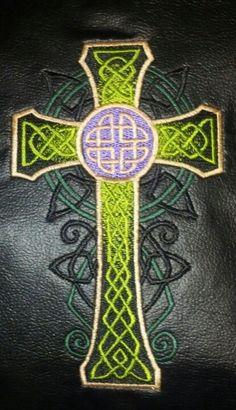Celtic Cross on Vinyl