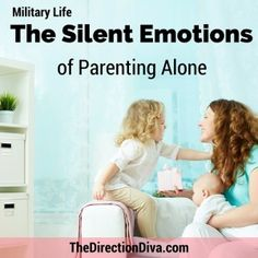 One of the biggest challenges of military life is the fact that we are often Parenting alone. In this post connect with one military spouses experience, thoughts and feelings.
