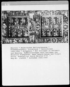 Tricktrack board, 1550-1600