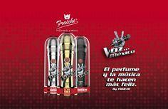 Colección de fragancias de La Voz México. Perfume, Golf Clubs, Fragrance