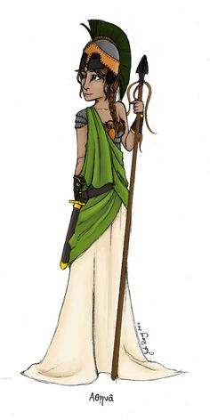 Greek Goddess: Athena by JadeAriel.deviantart.com on @deviantART