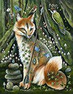 Pagan Art, Photo D Art, Fox Art, Kawaii, Wildlife Art, Whimsical Art, Artist Art, Beautiful Artwork, Amazing Art